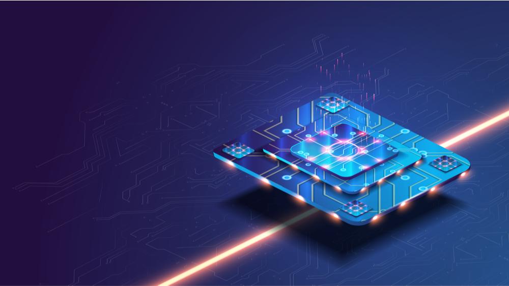 Machine learning microprocessor