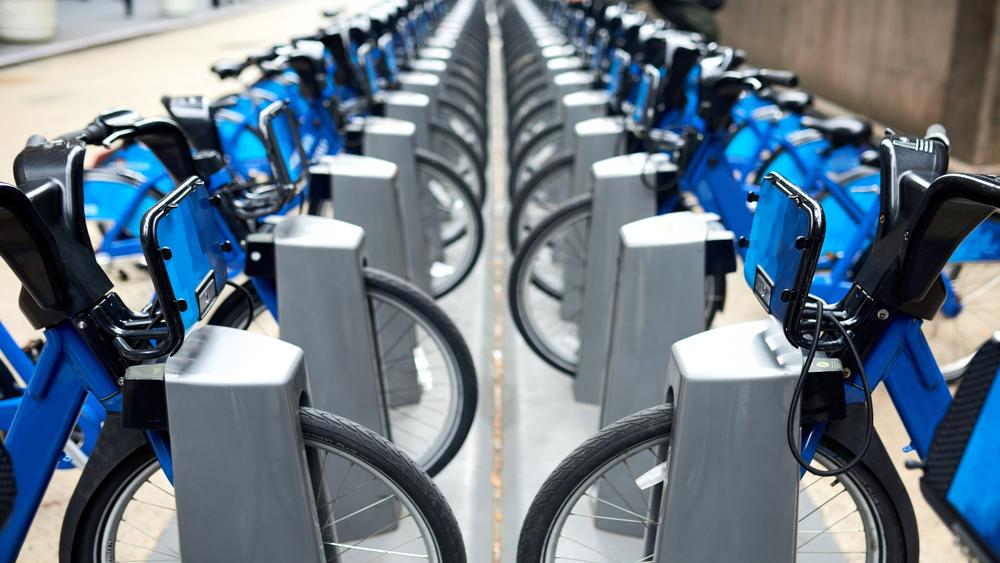 wirelessly cinnected city bikes
