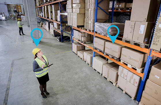 Warehouse asset tracking