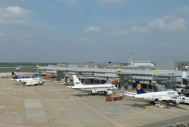 Dusseldorf Airport in Germany
