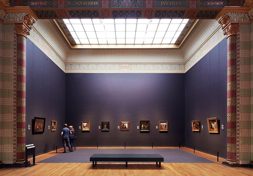 Gallery of Honour at the Rijksmuseum