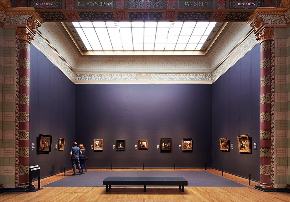 Gallery of Honour at the Rijksmuseum